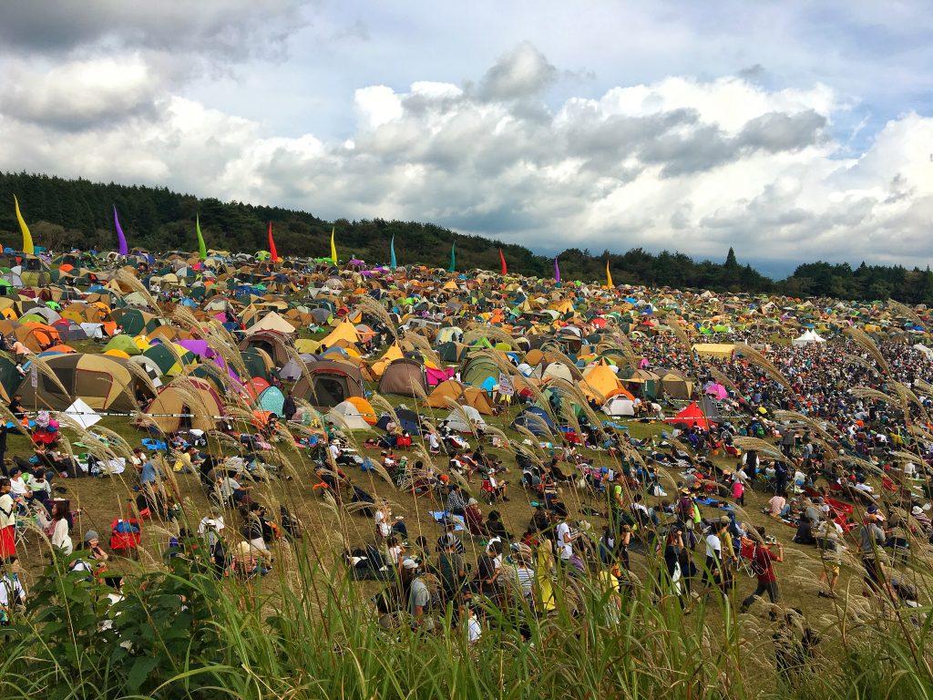 フェス+キャンプの最適解『朝霧JAM 2017』に行ってきました!