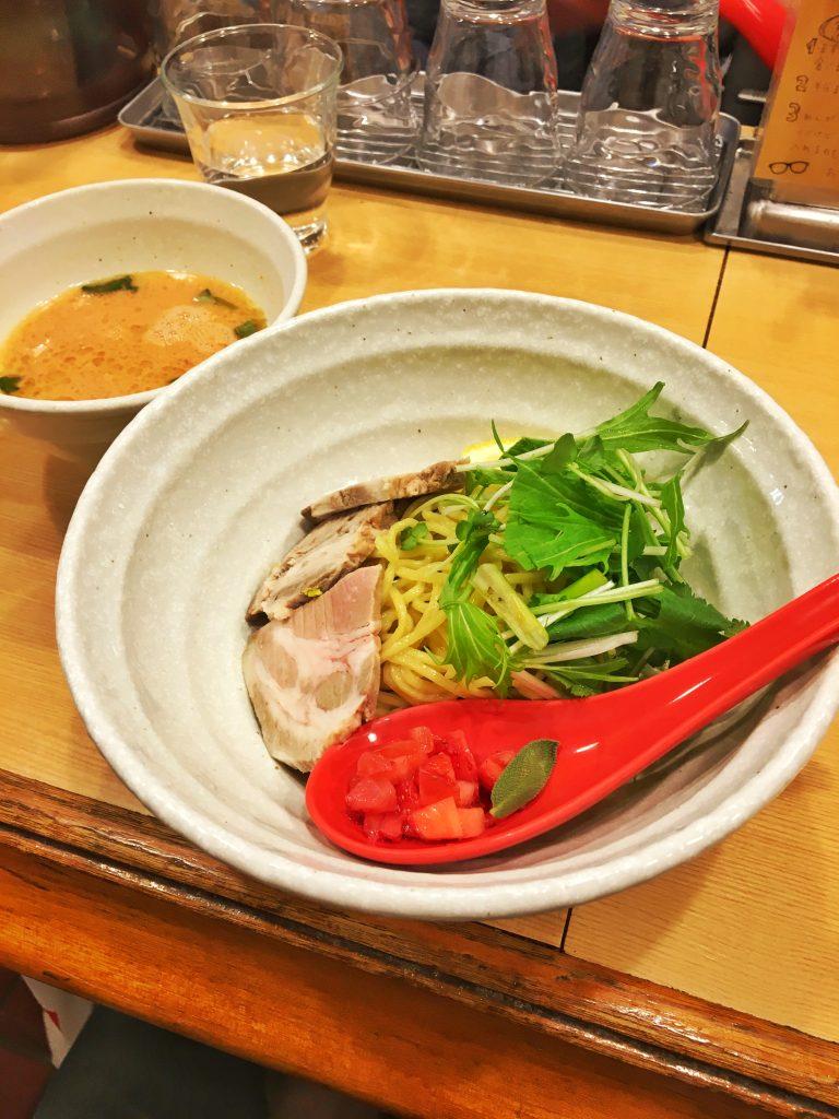 下北沢『らーめん桑嶋』の『苺しろ味噌つけ麺』